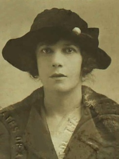 Vivienne Haigh-Wood Eliot, passport photograph from 1920.