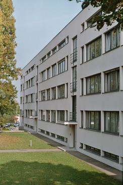 Building by Mies van der Rohe in the Weissenhof Estate (1927)