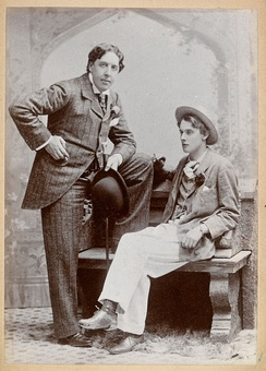 Oscar Wilde and Lord Alfred Bruce Douglas, May 1893