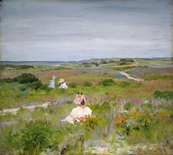 Landscape: Shinnecock, Long Island, c. 1896, Princeton University Art Museum