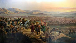 The capture of Erzurum by Ivan Paskevich on 27 June 1829