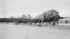 Douglas C-47A-25-DK Skytrain Serial 42-93708 of the 301st TCS