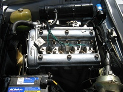 1970 Alfa Romeo 1750 GTV engine