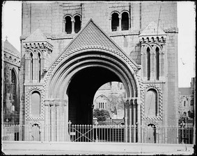 Archway, Norman Tower, Bury St Edmunds, Suffolk, c. 1120–1148
