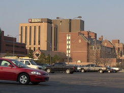 IU Health Ball Memorial Hospital is Muncie's largest employer.