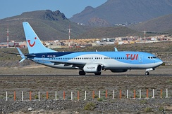 TUI fly Netherlands Boeing 737-800