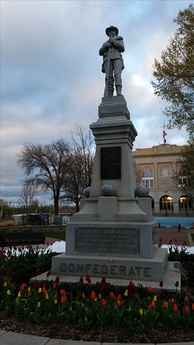 Monument dedicated by the UDC on August 8, 1908