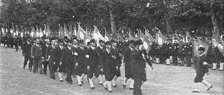 Rally of Great Japan Youth Party in 1940