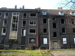 Shrinking Duisburg: Abandoned buildings in the borough of Beeck