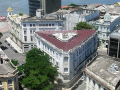 Historic buildings in Old Recife.