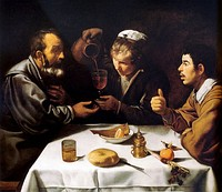 Diego Velázquez, The Farmers' Lunch, c. 1620