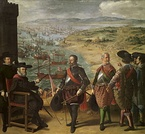The Defense of Cadiz against the English, 1634, Museo del Prado