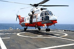 Hong Kong GFS AS332 L2 Super Puma SAR helicopter