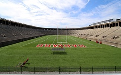 Harvard Stadium, home of Harvard Crimson and the Boston Cannons