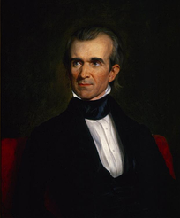President James K. Polk was elected in 1844 in part from his support for substantial claims against the British. Much of this rhetoric was to make the United Kingdom accept the long tabled proposed division along the 49th parallel.