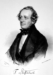 The polymath Johann Friedrich Dieffenbach contributed one of the foundation texts of the plastic surgery specialty. (1840)