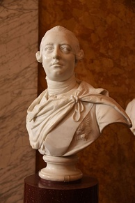 Bust by John van Nost the younger, 1767