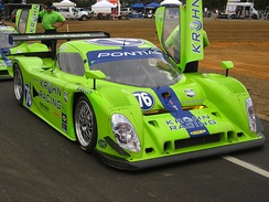 The Proto-Auto Lola at the 2008 Grand-Am round at New Jersey Motorsports Park