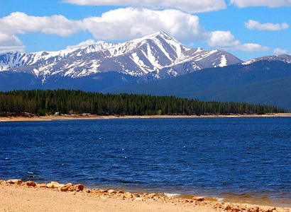 Mount Elbert is the highest summit of Colorado and the Rocky Mountains.