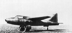 Heinkel He 178, in August 1939 the world's first aircraft to fly purely on turbojet power