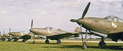 P-39Ds of the 31st PG at Selfridge Field in 1941