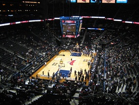 Then-Philips Arena prior to a Hawks game vs the Phoenix Suns