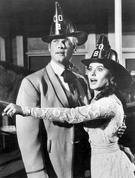 With Kathleen Crowley in Maverick (1961)