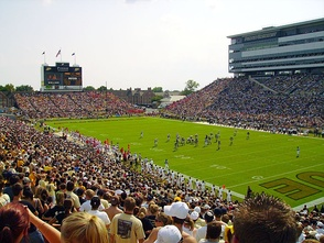 Ross–Ade Stadium during a game in 2006