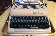 "The ""Super 5"" series portables were made from 1949 to 1960.  They are generally considered to be among the best portable typewriters by writers and typists."