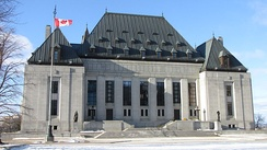 Supreme Court Building in Ottawa