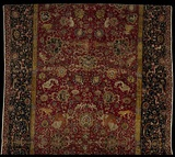The Emperor's Carpet (detail), second half of the 16th century, Iran. Silk (warp and weft), wool (pile); asymmetrically knotted pile, 759.5 x339 cm. The Metropolitan Museum of Art, New York