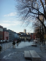 The New Parade, Kilkenny City, leading from the Castle to High Street