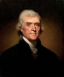 Thomas Jefferson served as the third president after defeating John Adams in the 1800 presidential election