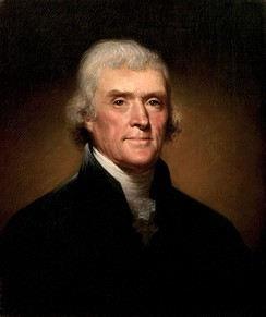 Thomas Jefferson, the founder of the Democratic-Republican Party
