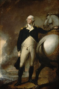 Washington at Dorchester Heights, by Gilbert Stuart 1806