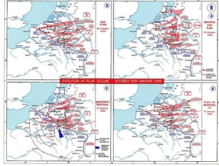 The German plan was radically altered, catching the Allied army off guard.