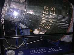 Liberty Bell 7 on display (2006)