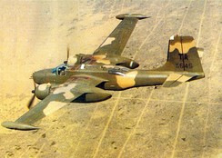 An A-26A of the 609th SOS in 1969