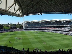 Adelaide Oval is the home of Australian Rules football and cricket in South Australia.