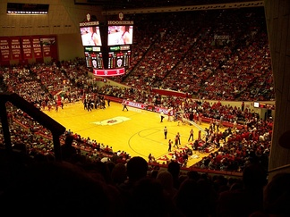 An interior view of Assembly Hall's Branch McCracken Court.