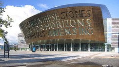 Welsh Millennium Centre, Cardiff, WNO's home base since 2004