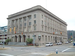 Charleston City Hall, West Virginia, in 2009