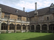 Lacock Abbey in Wiltshire, Augustinian nunnery converted into an aristocratic mansion and country estate
