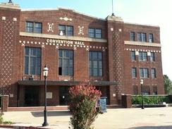 Enid's Convention Hall houses the Mark Price Arena. The Oklahoma Storm played their games at Mark Price Arena and the Chisholm Trail Expo Center.