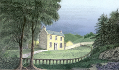 Craigenputtock House, by George Moir, 1829