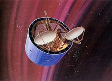 Illustration of a DSCS II satellite
