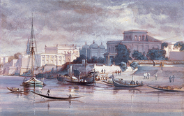Dhaka, or Dacca, under British rule in 1861
