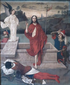 Resurrection by Dieric Bouts