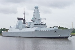 HMS Duncan, the Type 45 guided missile destroyer