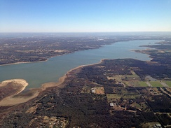 Grapevine Lake from the southwest